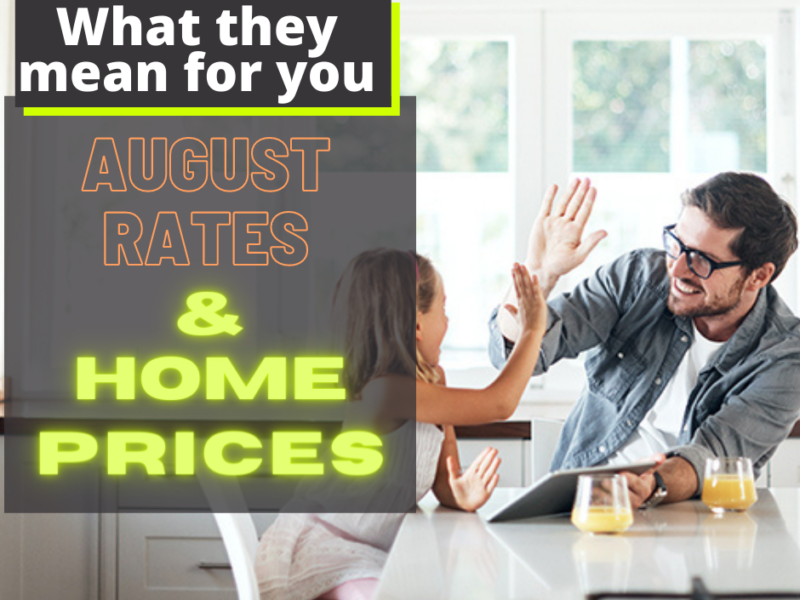 August Mortgage Rates